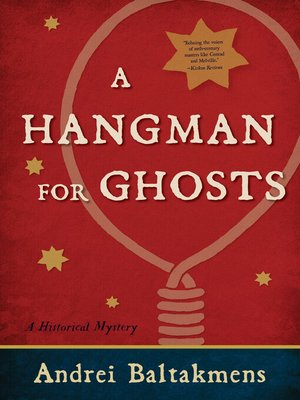 cover image of A Hangman for Ghosts
