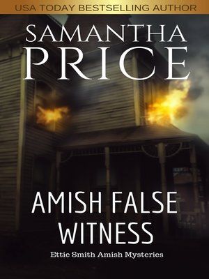 cover image of Amish False Witness