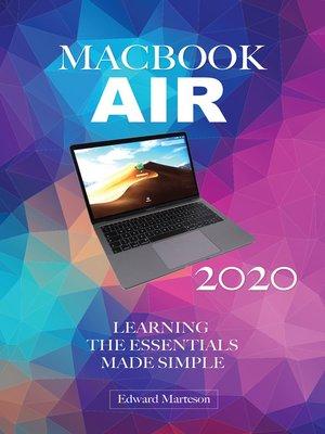 cover image of MacBook Air 2020
