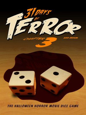 cover image of The Halloween Horror Movie Dice Game