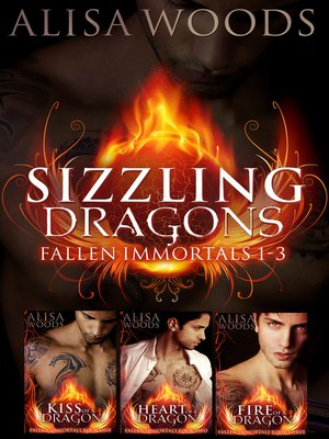 cover image of Sizzling Dragons Box Set