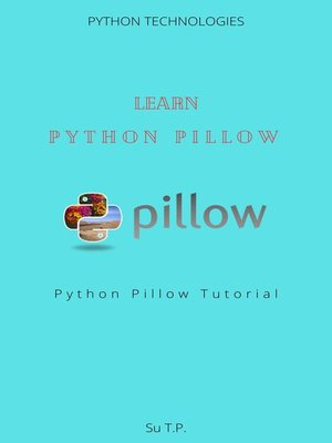cover image of Learn Python Pillow