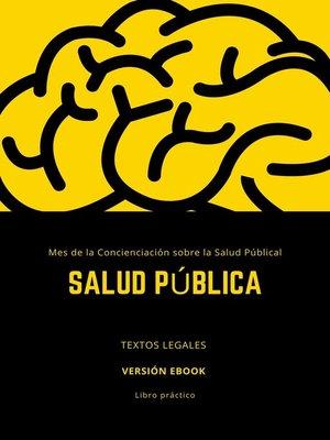 cover image of SALUD PÚBLICA