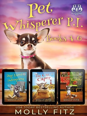 cover image of Pet Whisperer P.I. Books 4-6 Special Boxed Edition