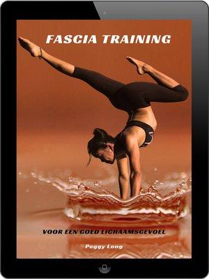 cover image of Fascia training voor een goed lichaamsgevoel