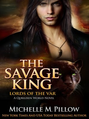 cover image of The Savage King
