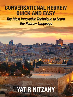 cover image of Conversational Hebrew Quick and Easy