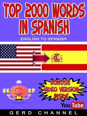 cover image of Top 2000 Words in Spanish