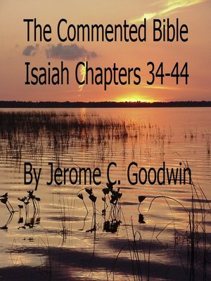 cover image of Isaiah Chapters 34-44