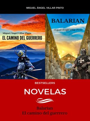 cover image of Novelas: Bestsellers, Libro 6