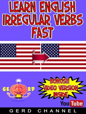 cover image of Learn English Irregular Verbs Fast