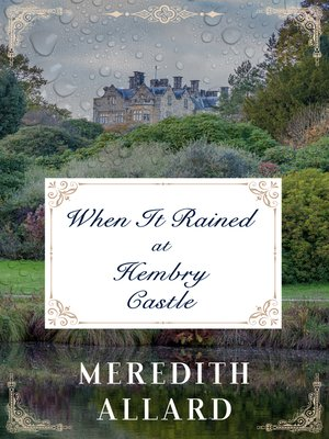 cover image of When It Rained at Hembry Castle