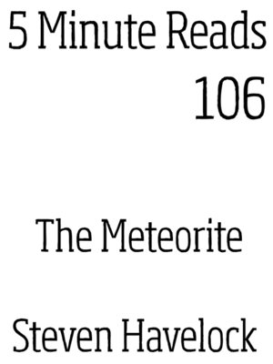 cover image of The Meteorite