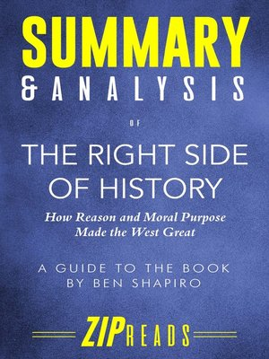 cover image of Summary & Analysis of the Right Side of History