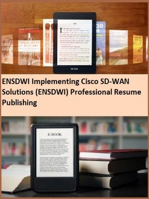 cover image of ENSDWI Implementing Cisco SD-WAN Solutions