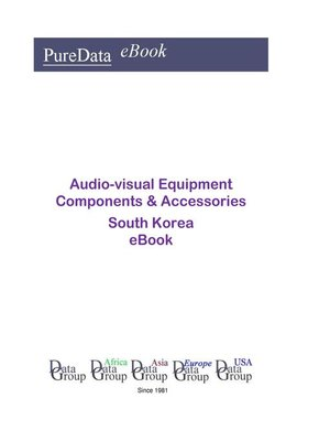 cover image of Audio-visual Equipment Components & Accessories in South Korea