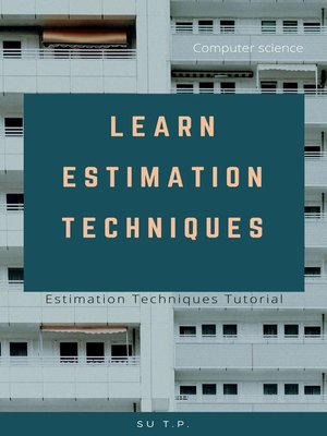 cover image of Learn Estimation Techniques
