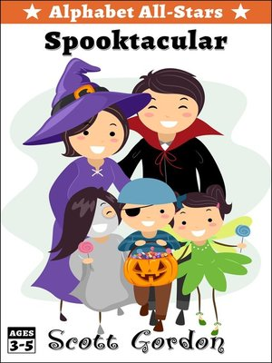 cover image of Alphabet All-Stars Spooktacular