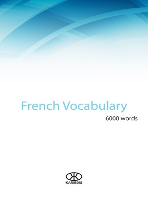 cover image of French vocabulary