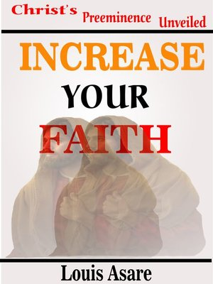 cover image of Increase Your Faith