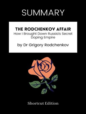 cover image of SUMMARY--The Rodchenkov Affair