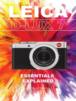 cover image of Leica D-Lux 7