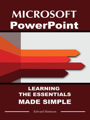 cover image of Microsoft PowerPoint