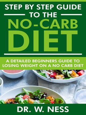 cover image of Step by Step Guide to the No-Carb Diet