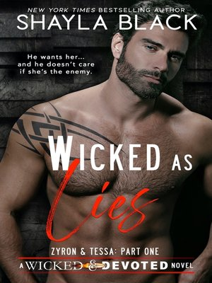 cover image of Wicked as Lies