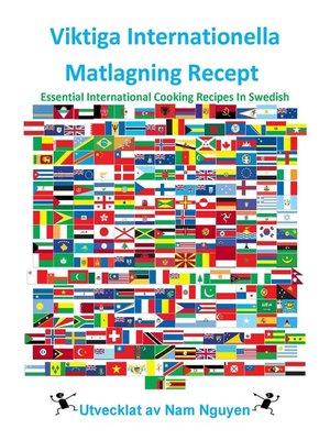 cover image of Viktiga Internationella Matlagning Recept