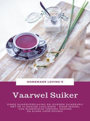 cover image of Vaarwel Suiker