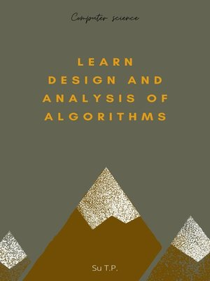 cover image of Learn Design and Analysis of Algorithms