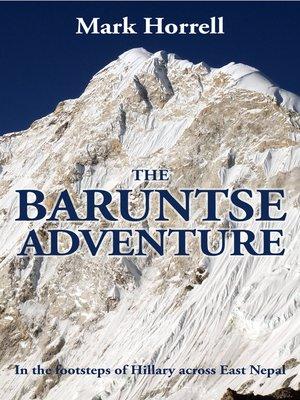 cover image of The Baruntse Adventure