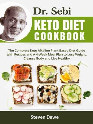 cover image of Dr. Sebi Keto Diet Cookbook