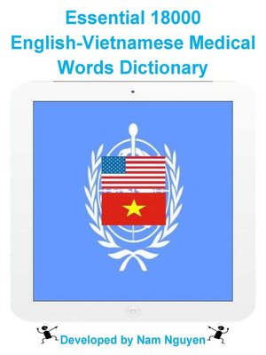 cover image of Essential 18000 English-Vietnamese Medical Words Dictionary