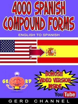 cover image of 4000 Spanish Compound Forms
