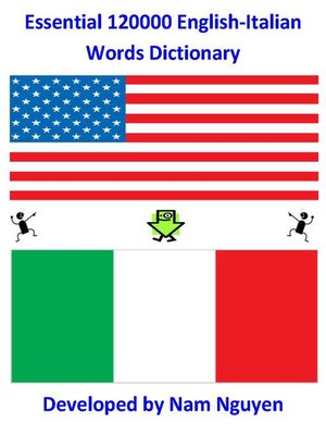 cover image of Essential 120,000 English-Italian Words Dictionary