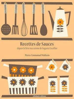 cover image of Recettes de Sauces