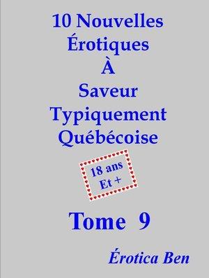 cover image of Érotica Ben le neuvième