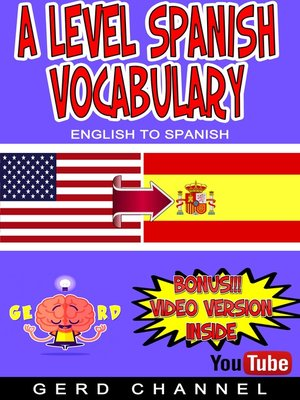 cover image of A Level Spanish Vocabulary