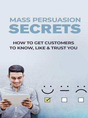 cover image of Mass Persuasion Secrets