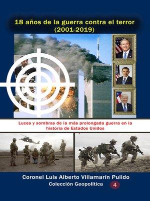 cover image of 18 años de la guerra contra el terror
