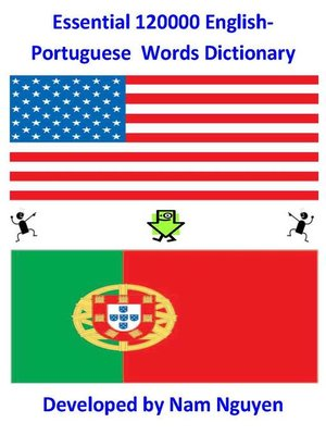 cover image of Essential 120,000 English-Portuguese Words Dictionary