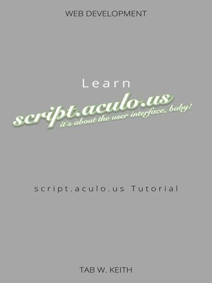 cover image of Learn script.aculo.us