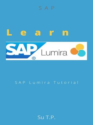 cover image of Learn SAP Lumira