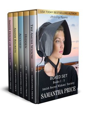 cover image of Amish Mysteries Boxed Set Books 1--5