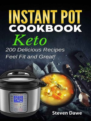 cover image of Keto Instant Pot Cookbook