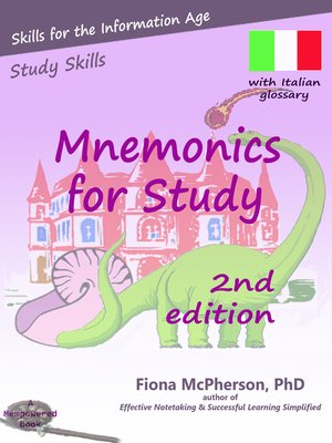 cover image of Mnemonics for Study