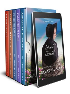 cover image of Amish Brides Boxed Set--Five Books