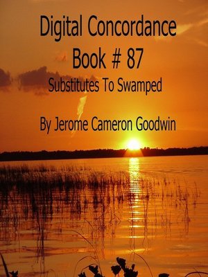 cover image of Substitutes to Swamped--Digital Concordance Book 87
